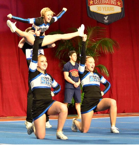 Cheer comp in Anaheim 2015