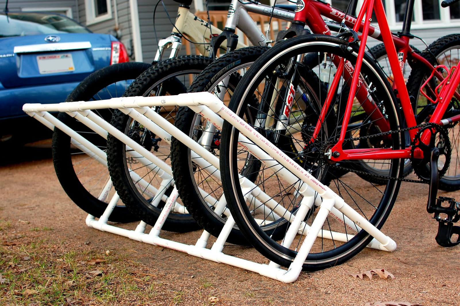 Always Fancied Making One Of These But Ive Found That Just Bungeeing The Bikes To Side Van Works Well Enough