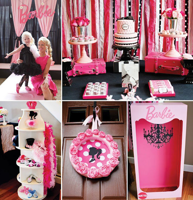 BARBIE BIRTHDAY PARTY IDEAS