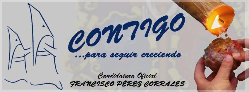 Candidatura Francisco Pérez Corrales a  la Asociación de Cofradías de Semana Santa de Ciudad Real