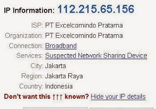 Cara Mengetahui Alamat IP