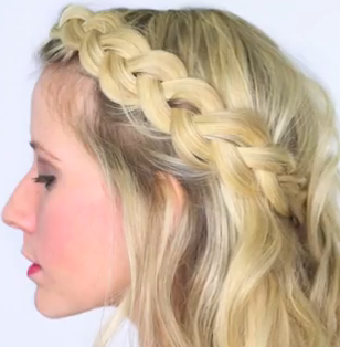 Soft Dutch Braid