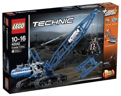 TOYS : JUGUETES - LEGO Technic  42042 Grúa Móvil | Crawler Crane  Producto Oficial 2015 | Edad: 10-16 años  Comprar en Amazon España