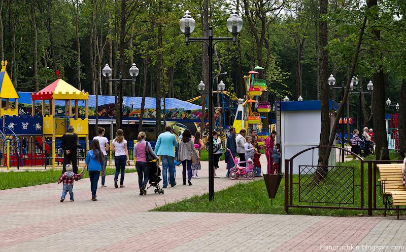 Касса, парк Пролетарского района, Саранск