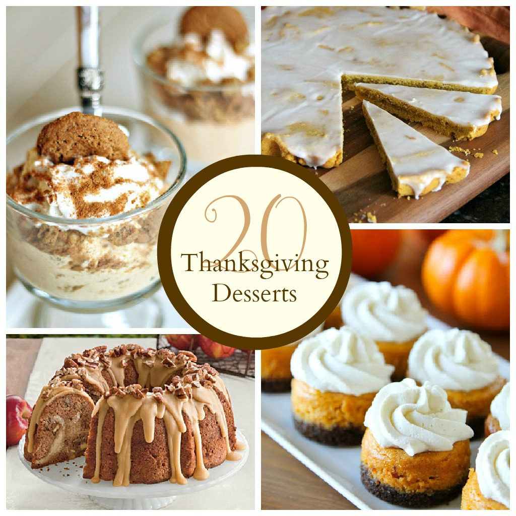 thanksgiving desserts the crafted sparrow