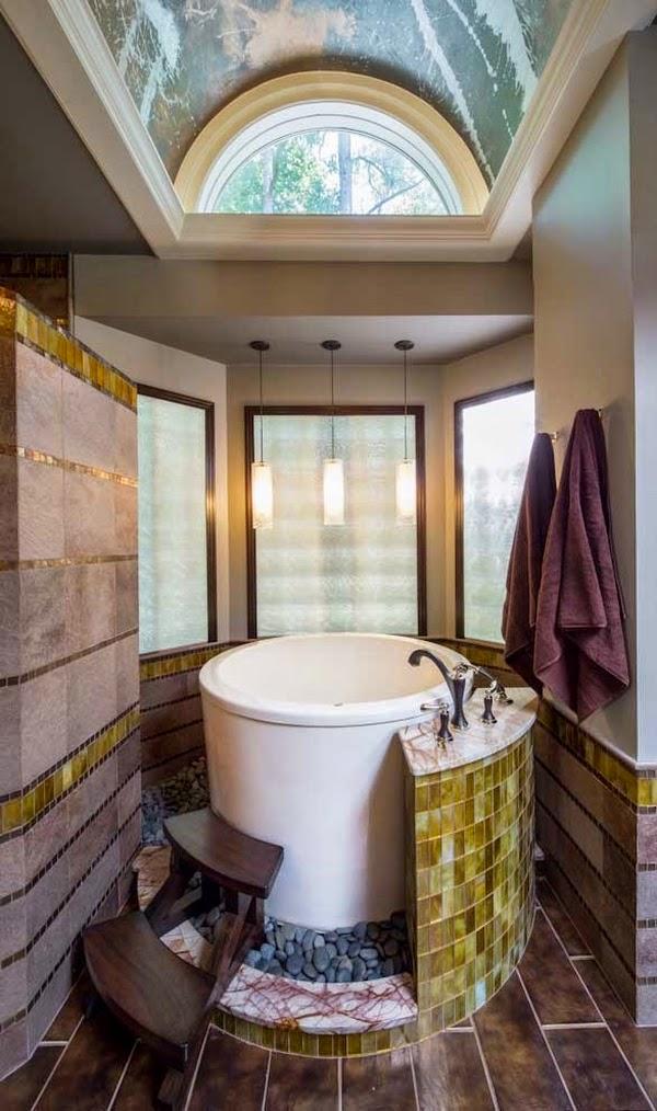 Conseils d co et relooking baignoires japonaises le charme et la simplicit dans la salle de for Petite salle de bain japonaise