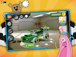 Racing Android game FORMULA CARTOON ALL-STARS Download,