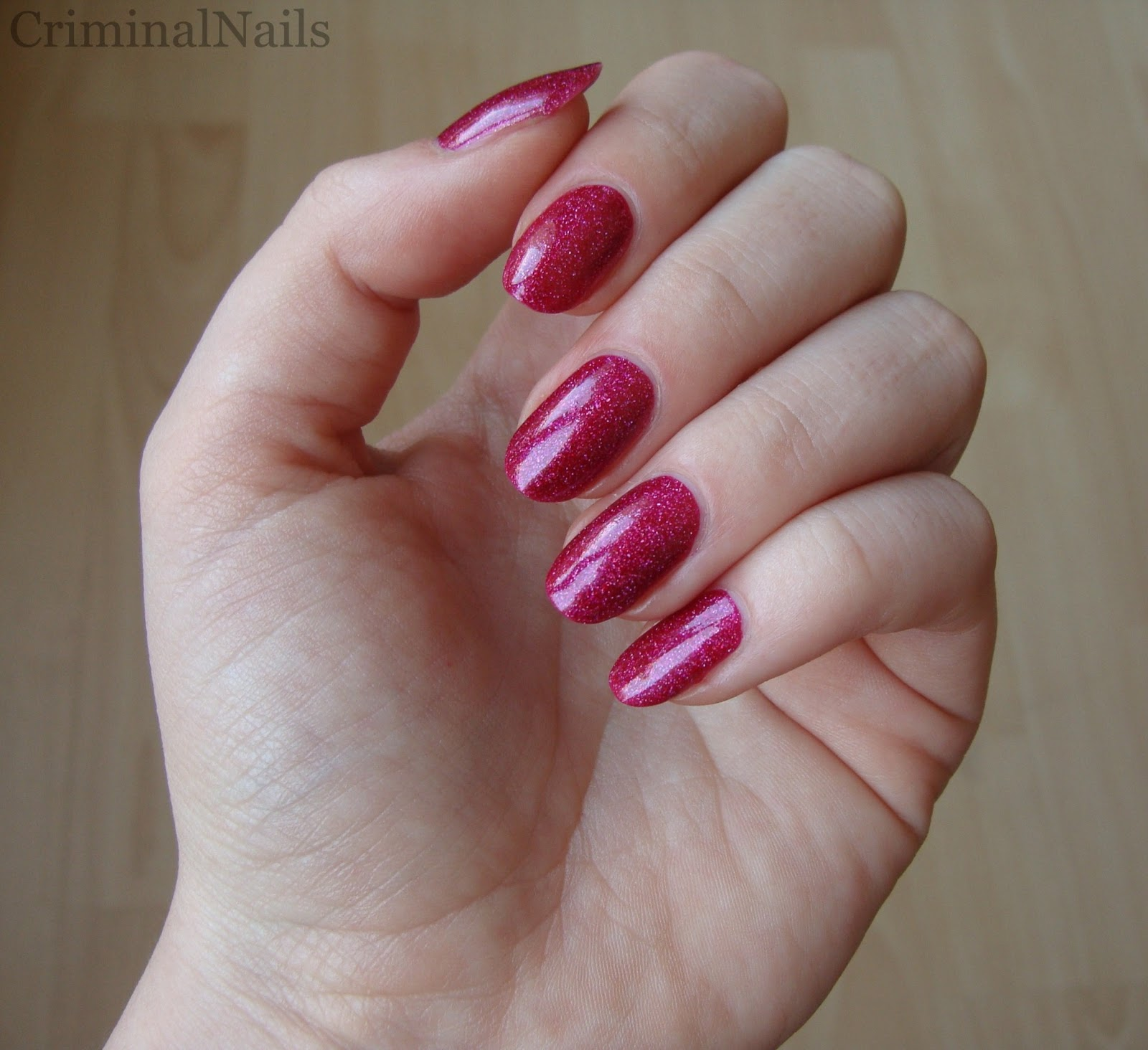 Criminal Nails: ABC Challenge: Letter P - Pink, Orly Miss Conduct