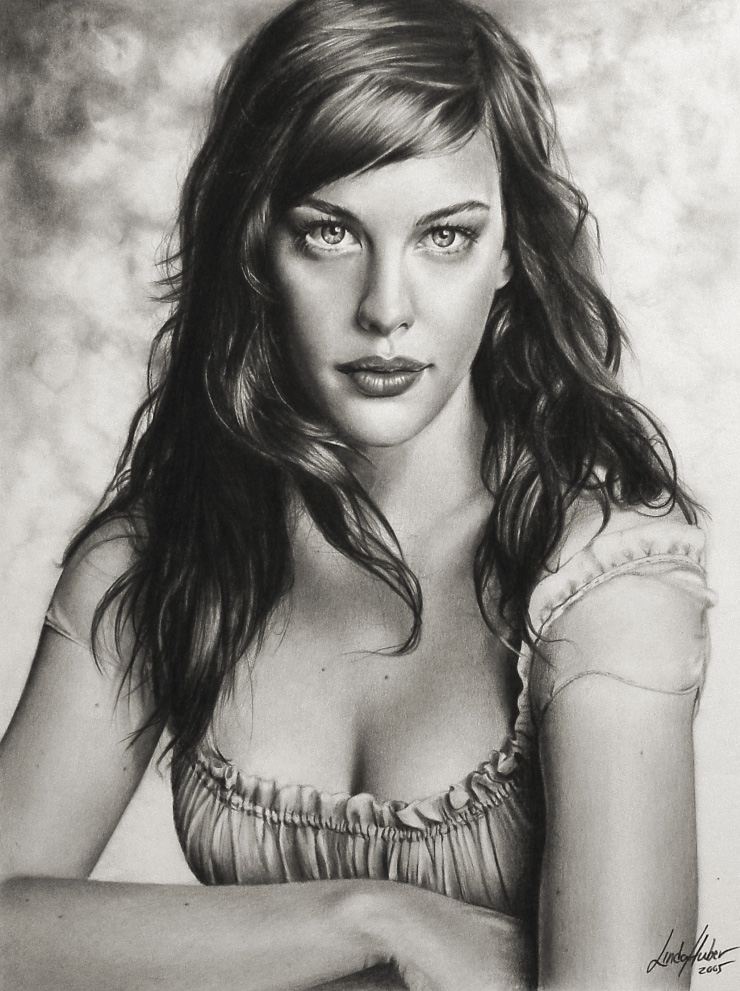 Pencil Drawings by Linda Huber- 24 Images