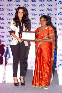 Neha Dhupia at P&G's 'Thank you, Mom' event pictures