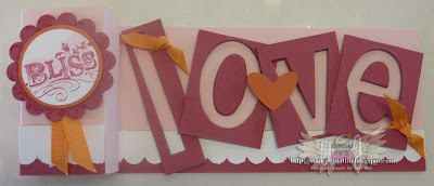 Valentines Workshop Love Off cuts Cards