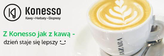Konesso- kawa, herbata ekspres koniecznie zajrzyj bo warto