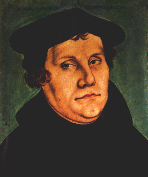 an overview of the work of martin luther in terms of christianity born in 1483 in eisleben