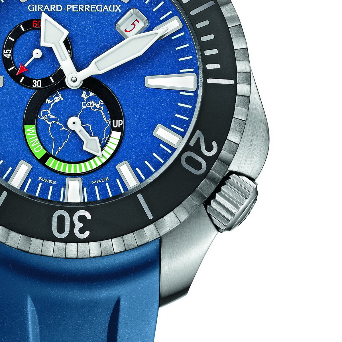 Girard perregaux seahawk 1000 big blue for Girard perregaux