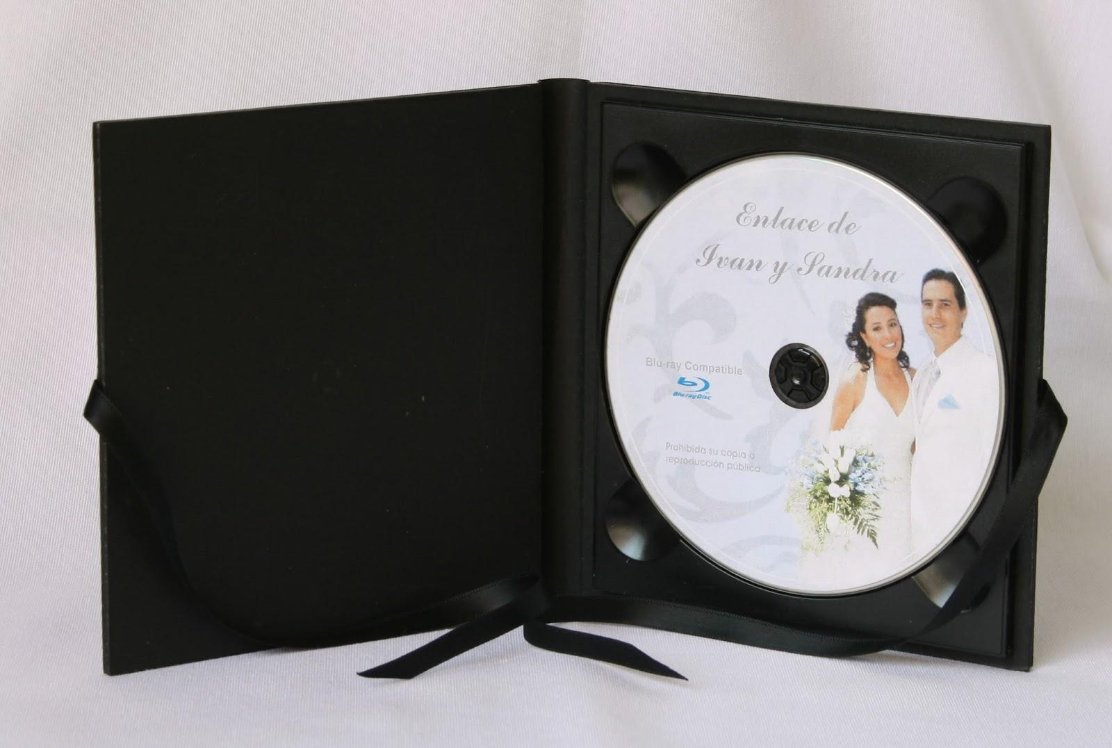 Estuche 1 DVD  Basic Negro abierto