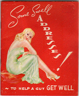 Get well soon card 1940's