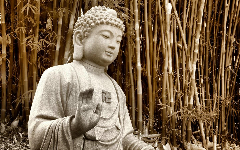 Buddha face wallpaper