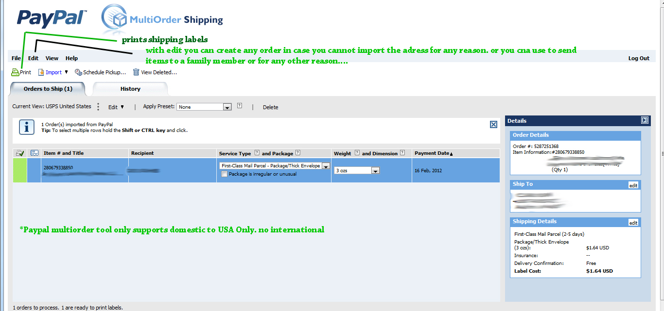 How to Print a USPS Scan Form 5630   Ebay-Shipping