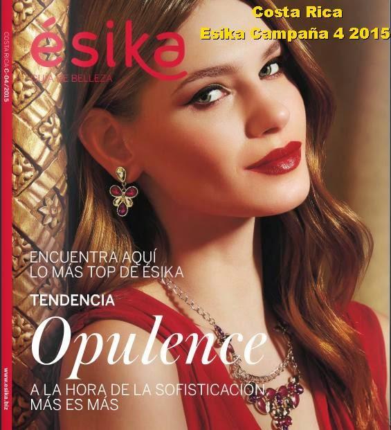 Esika de Costa Rica catalogo 4 2015