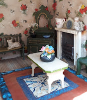 Dolls House miniatures and Textiles Sales blog - click on the image