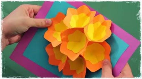 Aprenda a fazer um cartão dias das Mães artesanal