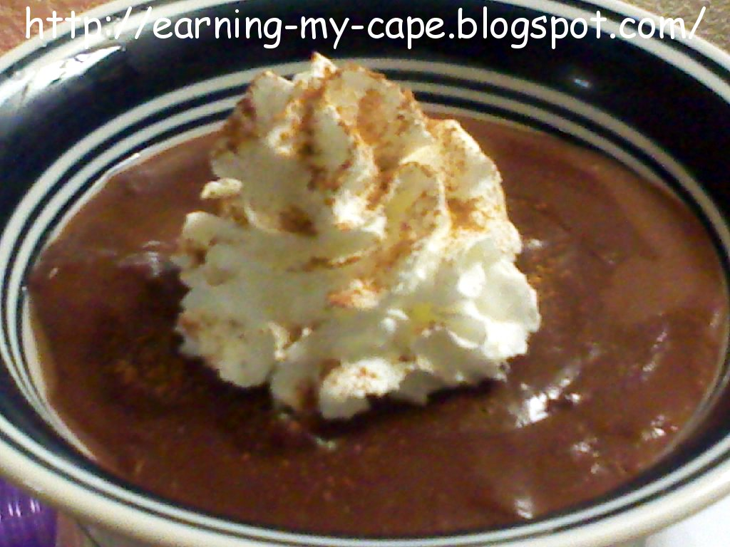 Quick Mexican Chocolate Pudding Recipe