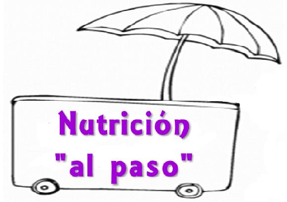"""Nutrición """"al paso"""""""
