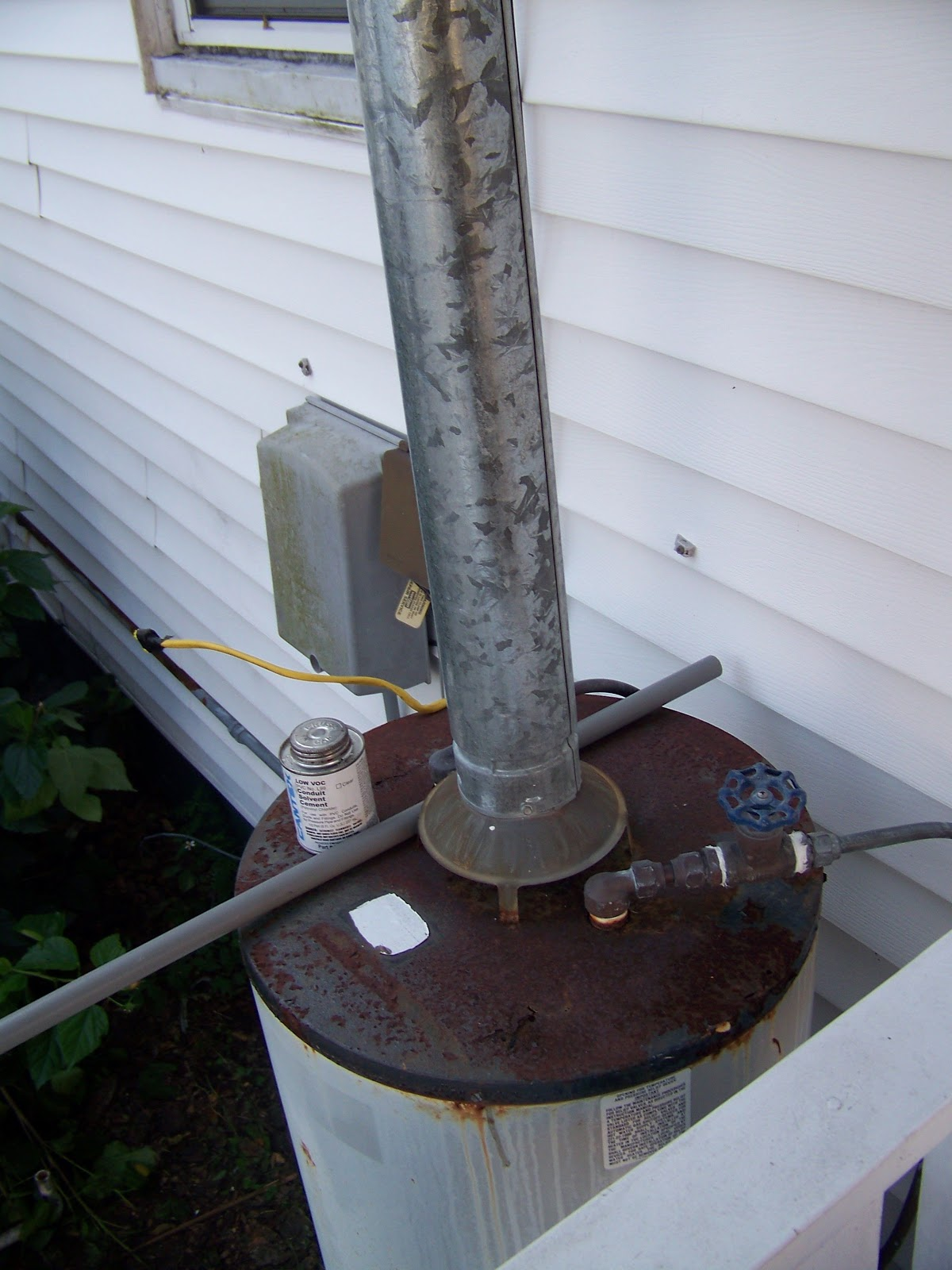 Seesaws and Sawhorses Water Heater Woes