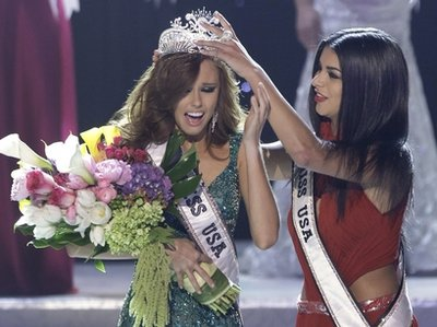 Alyssa Campanella from California was the winner of Miss USA 2011
