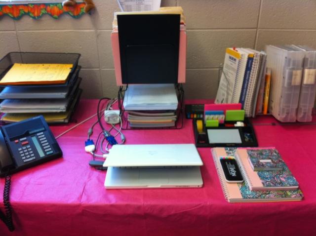 Middle school math rules after school routine checklist - School desk organization ideas ...