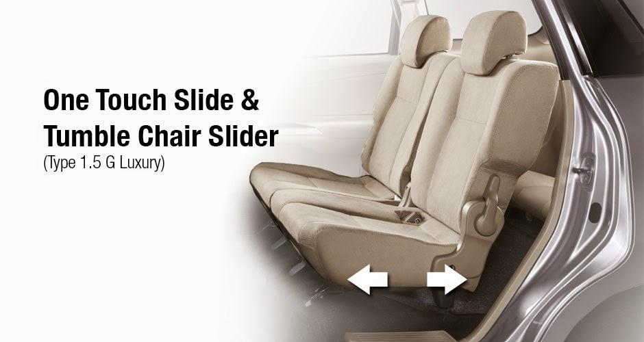 Sliding Seats avanza 2015