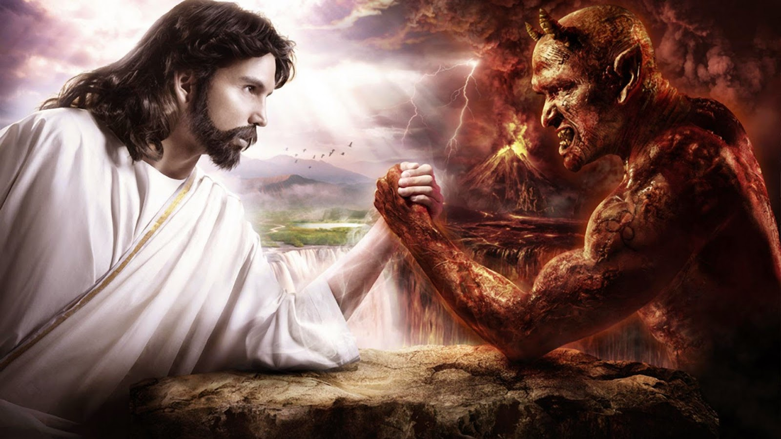 Rants Within the Undead God: Clash of Worldviews: God and the Devil