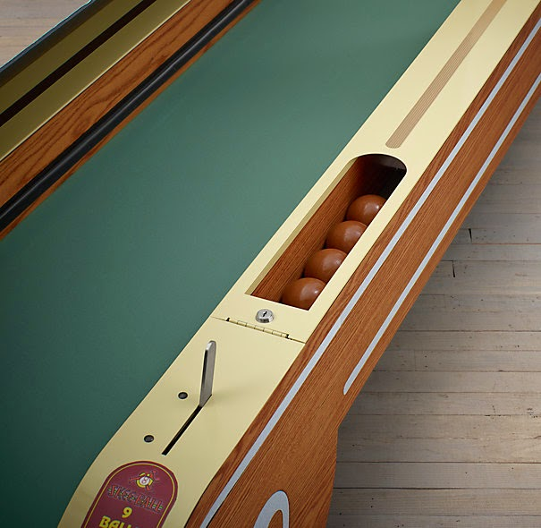 VINTAGE ARCADE SKEEBALL FOR THE HOME