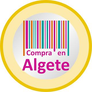 """Logotipo de la campaña """"Compra en Algete"""""""
