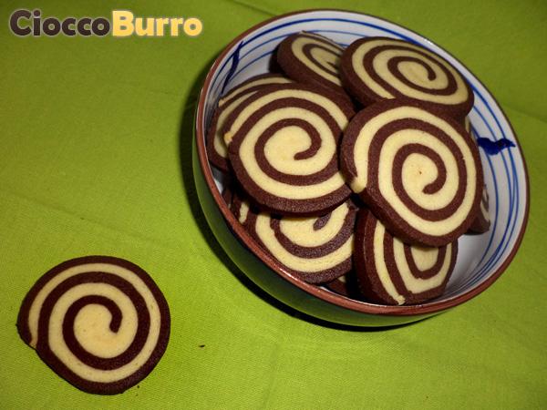 biscotti a spirale