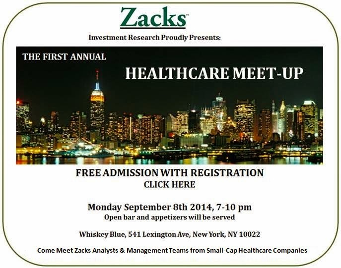 Zacks Healthcare Meet-Up!