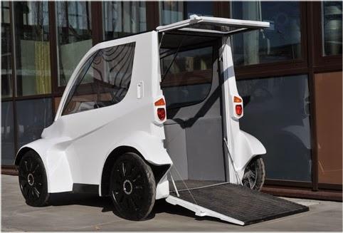 """""""Buzz"""" - ekologiczny pojazd dla niepełnosprawnych"""