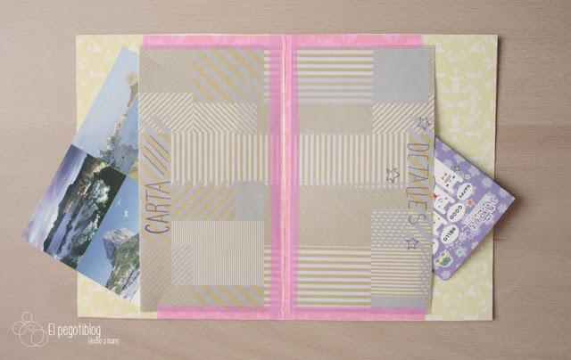 Cómo hacer una carpeta para tus cartas