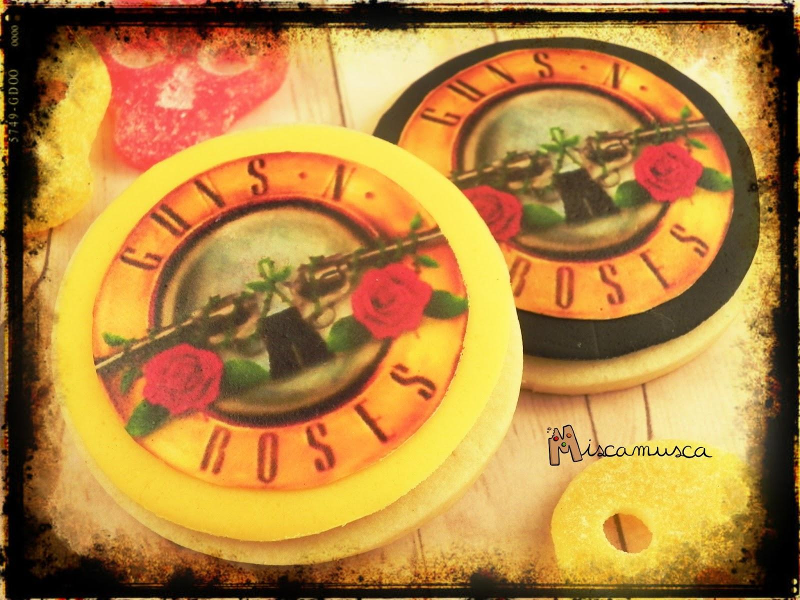 Galletas Guns'n'Roses