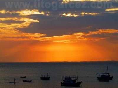 Final de tarde na Barra, em Salvador