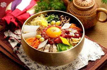 bibimbap makanan khas korea