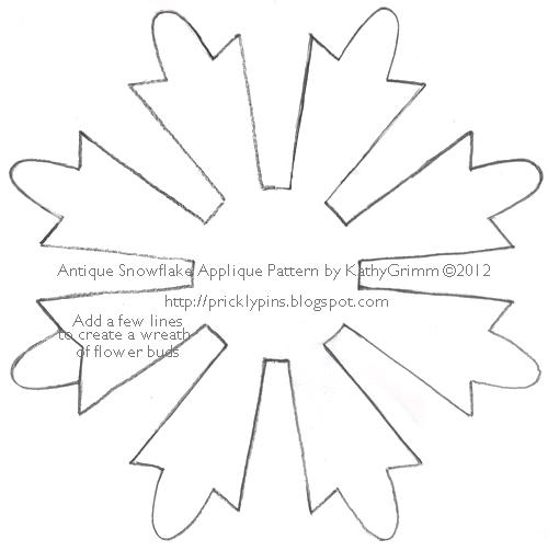 snowflake pattern templates