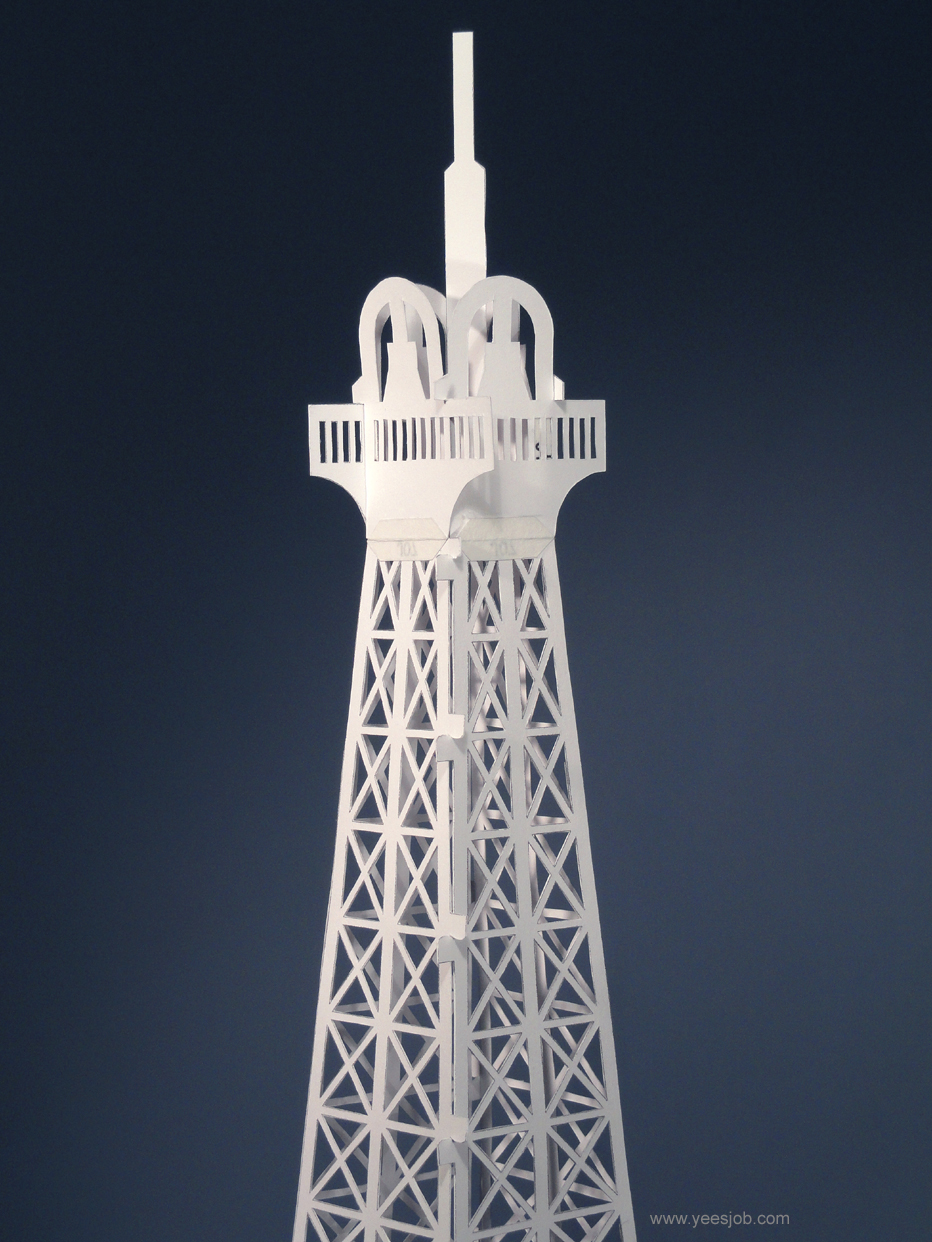 the kingdom of origami architecture eiffel tower origami