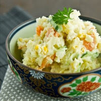 Lạ mà ngon với salad khoai tây