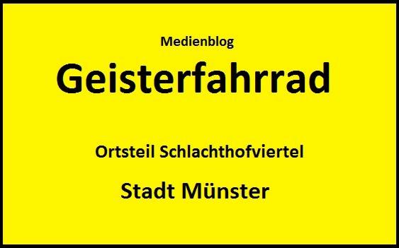 Geisterfahrrad - der Blog aus Münster