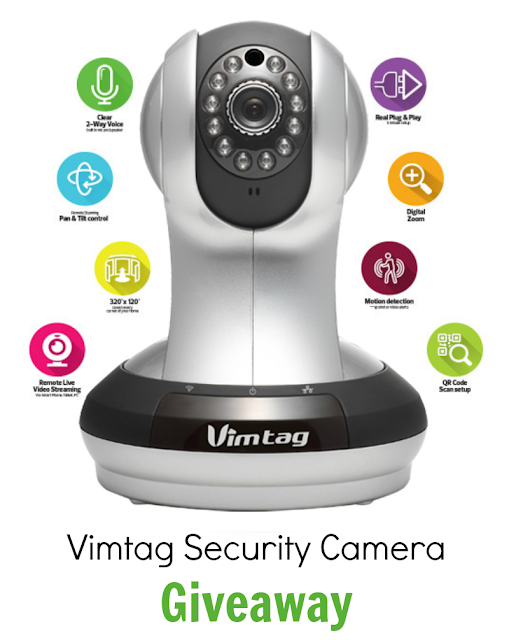 Vimtag Security Camera Giveaway