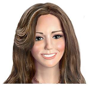 Kate Middleton engagement doll
