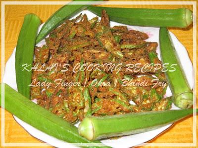 Crispy Lady Finger / Okra / Bhindi Fry