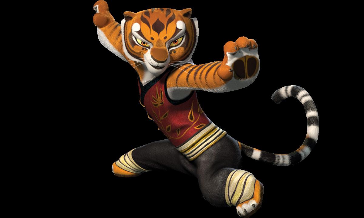 Poder Create Render Kung Fu Panda Tigress