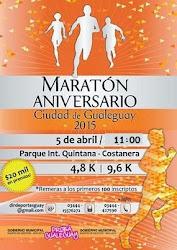 5 de Abril 2015 - 11: 00 hs 16º Edición Maratón Aniversario Ciudad de Gualeguay
